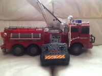 Big Remote Control Fire Engine