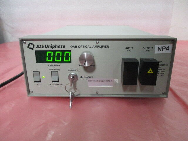 JDS Uniphase OAB1552+1FA2 Erbium-Doped Fiber Amplifier, OAB, Optical, 418912