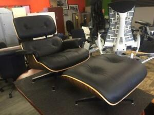 Herman Miller Eames Tall Lounge Chair and Ottoman - New