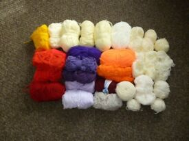 Bundle of Assorted Double Knit Wool