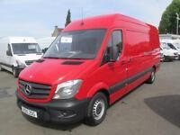 Mercedes-Benz Sprinter 313 CDi LWB High Roof 3.5T Van DIESEL MANUAL RED (2015)