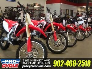 Honda trail bike and motocross sale!