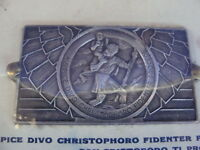 Placca San Cristoforo Vintage Per Auto D'epoca Fiat Lancia Alfa Romeo Moto Vespa - lancia - ebay.it