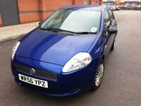 56 REG Fiat Grande Punto 1.2 Active 5dr, Low Mileage only 59000,Hpi clear