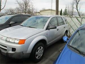 2003 Saturn VUE AWD RUNS AND DRIVES AS-TRADED AS-IS DEAL