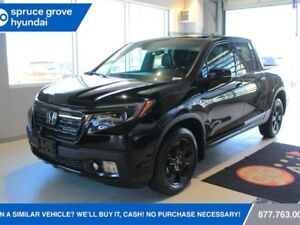 2017 Honda Ridgeline BLACKED EDITION FULLY LOADED ONLY 8,215 km'