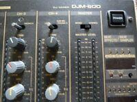 Pioneer DJM600 Professional DJ Mixer