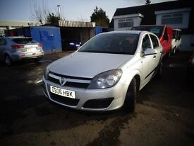 2006 Vauxhall Astra 1.6 5 door MOT'd Jan 124,000 Miles Great Driver £1095