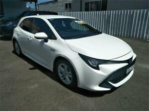2018 Toyota Corolla ZWE211R Ascent Sport E-CVT Hybrid White 10 Speed Constant Variable Hatchback Sutherland Sutherland Area Preview