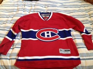 Montreal Canadians Blank  Size Medium