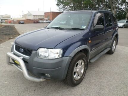 2003 Ford Escape BA Limited Blue 4 Speed Automatic Wagon Georgetown Newcastle Area Preview