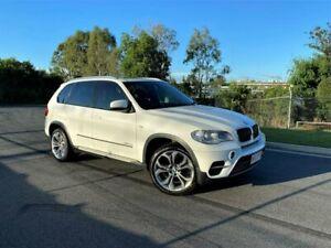 2011 BMW X5 E70 MY11 xDrive30d Steptronic White 8 Speed Sports Automatic Wagon Darra Brisbane South West Preview
