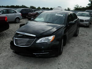 2012 CHRYSLER 200 **COMPLETE PART OUT** BLACK Kitchener / Waterloo Kitchener Area image 1