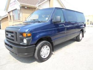 2012 FORD E150 XL Club Wagon 8Passenger 4.6L V8 ONLY 91,000KMs
