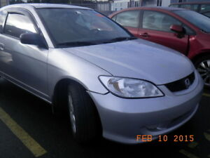 2005 HONDA CIVIC FOR PARTING OUT