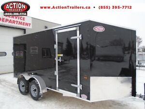 UNBEATABLE PRICE!! 7X14 ALL ALUMINUM AMERALITE TRAILER WITH RAMP