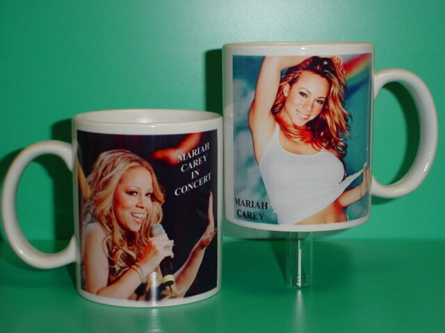 MARIAH CAREY - with 2 Photos - Designer Collectible GIFT Mug 01