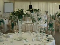 8 Tall Bell toppped wedding vases