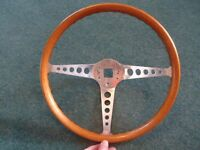 Classic Empi Speedwell steering wheel for VW Mini Mustang Cortina etc
