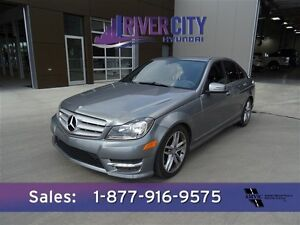 2013 Mercedes-Benz C-Class C300 4MATIC LOADED $238b/w