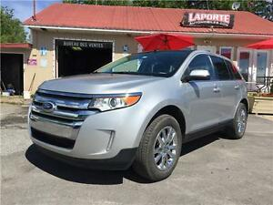 2013 FORD EDGE LIMITED , AWD , PANO