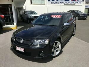 2009 Holden Commodore VE MY09.5 SS V Sportwagon Black 6 Speed Sports Automatic Wagon