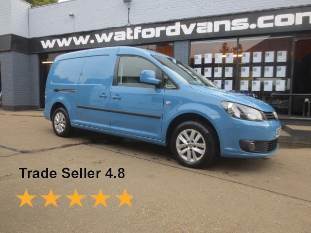 2013 Volkswagen Caddy Maxi Highline 1.6TDi 102ps *Excellent Spec* Diesel blue Ma