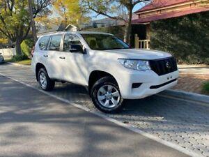 2018 Toyota Landcruiser Prado GDJ150R GX White 6 Speed Sports Automatic Wagon Hawthorn Mitcham Area Preview