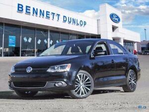 2013 Volkswagen Jetta 2.5L Highline-Moon Roof-Heated Leather Sea