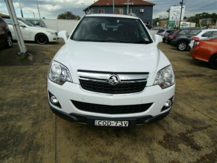 2013 Holden Captiva CG MY13 5 LTZ (AWD) White 6 Speed Automatic Wagon Five Dock Canada Bay Area Preview
