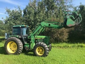 John Deere 3150 MFWD Tractor Located in Peace River