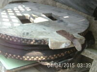 Large Antique Blacksmiths Bellows easy restoration