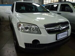 2007 Holden Captiva CG CX (4x4) White 5 Speed Automatic Wagon Mudgeeraba Gold Coast South Preview