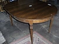 Canadian oak dining table