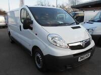 Vauxhall Vivaro LWB 2.0 CDTI 115PS VAN DIESEL MANUAL WHITE (2013)