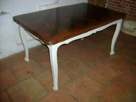 Extending French dining Table