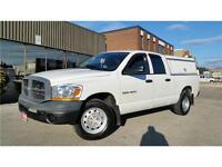 2006 Dodge Ram 1500 ST V6 **ARE UTILITY CAP-ONLY 111KM**