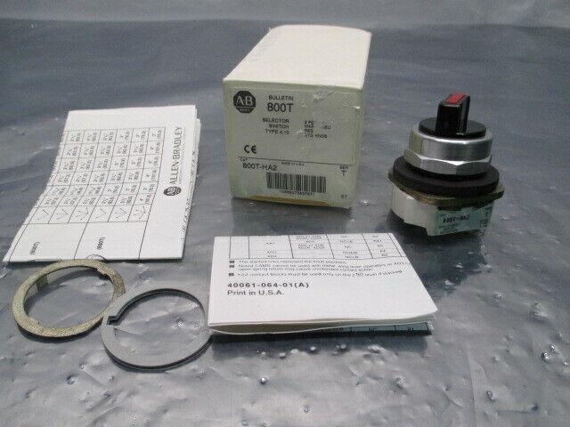 Allen-Bradley 800T-HA2 Selector Switch, Type 4, 13, 800T, 414784