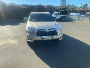 2014 Toyota Kluger GSU55R GXL AWD Fawn 6 Speed Sports Automatic Wagon Young Young Area Preview