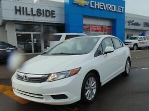 2012 Honda Civic Sdn EX *AUTO|SUNROOF|ALLOYS*