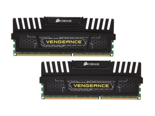 Corsair 8GB DDR3 SDRAM Memory Module Black CMZ8GX3M2A1600C9