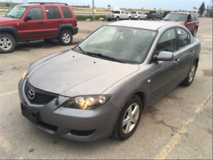 2004 Mazda Mazda3 GS Safetied! Very Low Mileage! Clean Title!