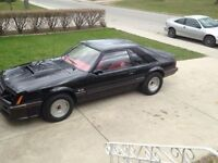 1982 MUSTANG SVO GT....400+ HORSE 11.90 QUARTERMILE