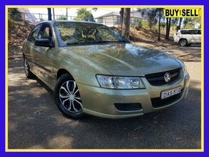 2005 Holden Commodore VZ Executive Green 4 Speed Automatic Sedan Lansvale Liverpool Area Preview