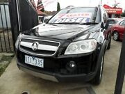 2007 Holden Captiva CG LX AWD Black 5 Speed Sports Automatic Wagon Coburg North Moreland Area Preview