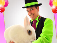 Magician for Kids' birthday parties - for a magical birthday