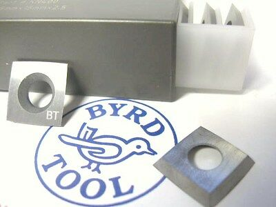 Byrd Shelix Insert Kn400 Carbide 4-edge Radius 100mm- 4 Case Of 10 Inserts