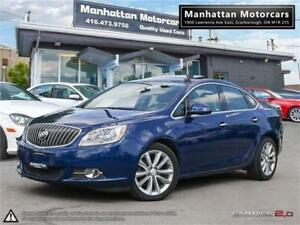 2014 BUICK VERANO LUXURY |NAV|SUNROOF|ALLOYS|CAMERA|WARRANTY