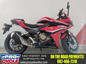 2018 Honda CBR500R ABS $40/Week OTR