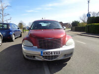 2004 CHRYSLER PT CRUISER LIMITED AUTO RED PREVIOUS CAT C NEW MOT